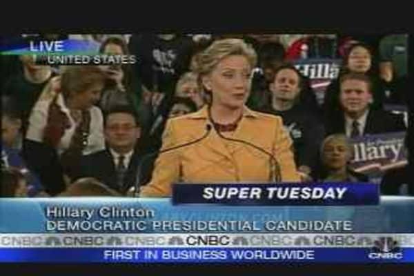Clinton Addresses NY