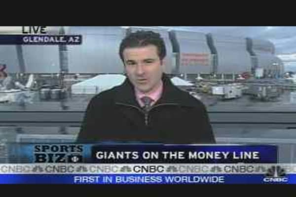 Giants on the Money Line