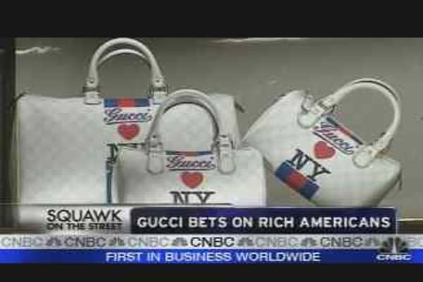 Gucci Bets on Rich Americans