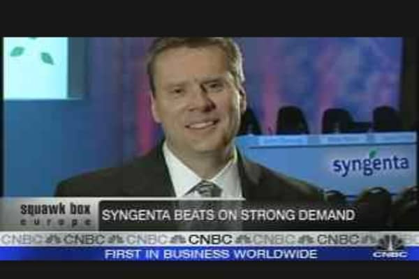 Syngenta Beats Forecasts on Strong Demand