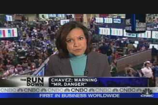 Chavez Threatens U.S. Oil