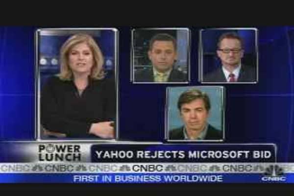 Yahoo Rejects Microsoft