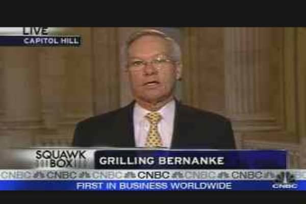 Grilling Bernanke