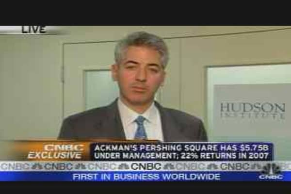 Ackman on Buffett's Offer