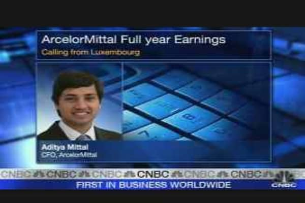 ArcelorMittal CFO Bullish on 2008