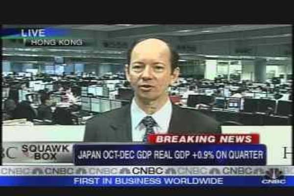 Japan Flexes Its Muscle