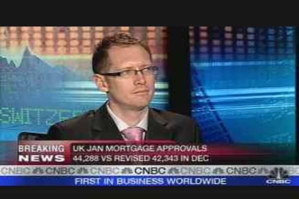 UK Mortgages Remain Weak