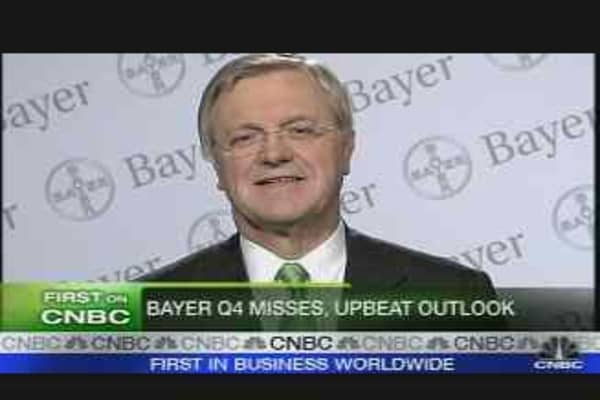 Bayer CEO 'Satisfied' with '07 Performance