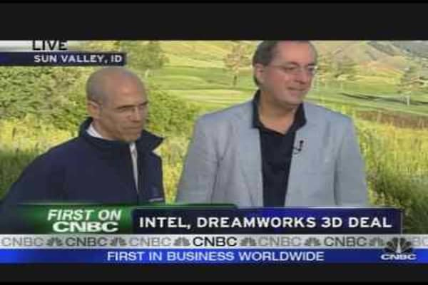 Intel & DreamWorks 3D Deal