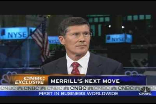 Thain on Merrill's Next Move, Pt. 1