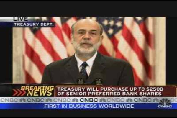 Ben Bernanke on the Financial Plan