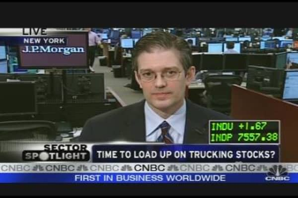 Load Up on Trucking Stocks?