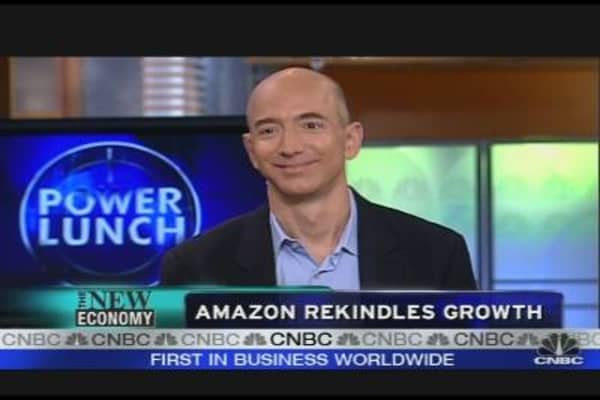Amazon Rekindles Growth