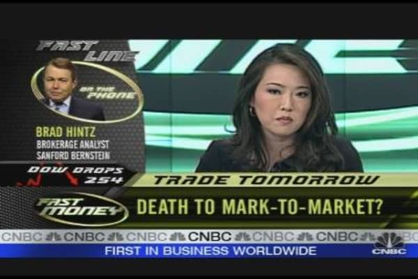 Death of Mark to Market?