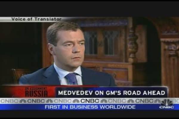 Medvedev on Russian Economy