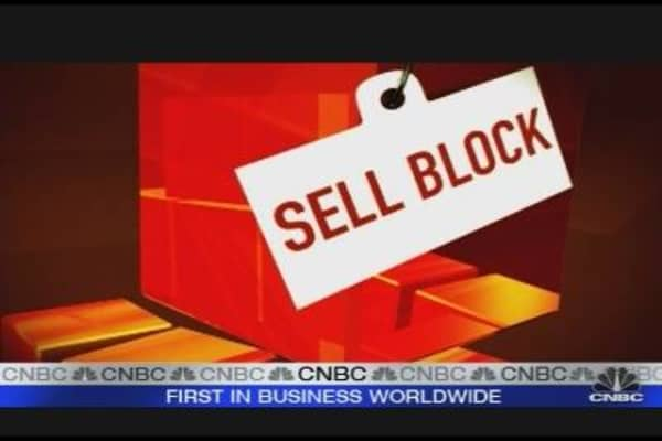 Cramerâ??s Sell Block