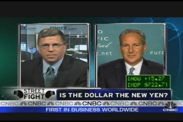 Is the Dollar the New Yen?