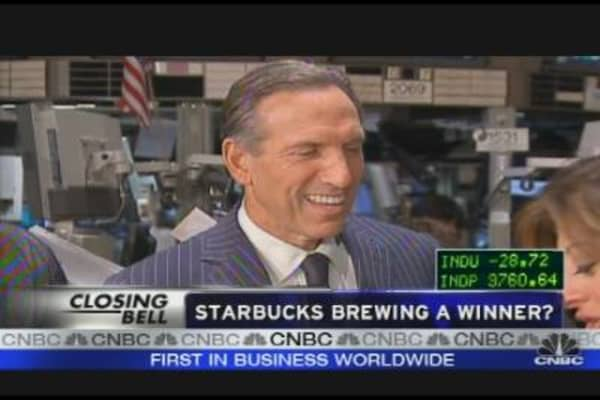 Starbucks Brewing A Winner?