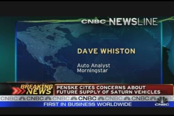 Penske Auto Terminates GM Talks