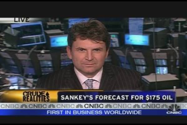 Sankey Forecasts $175 Oil by 2016