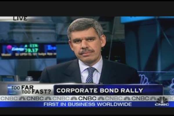 El-Erian On Corporate Bond Rally