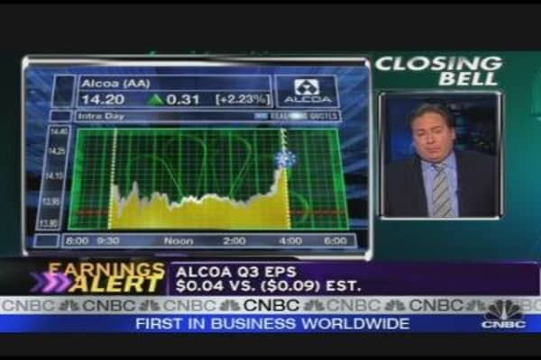 Alcoa's Earnings Out