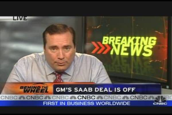 GM's Saab Deal Is Off