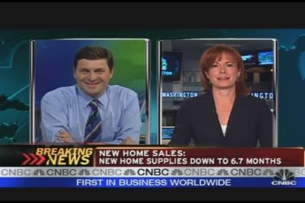 New Home Sales Data