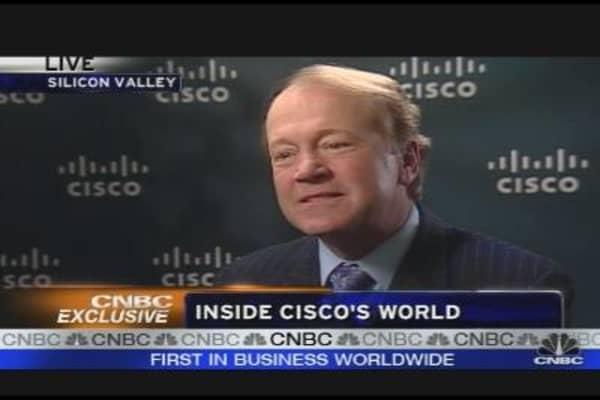 Cisco CEO's Profit Picture