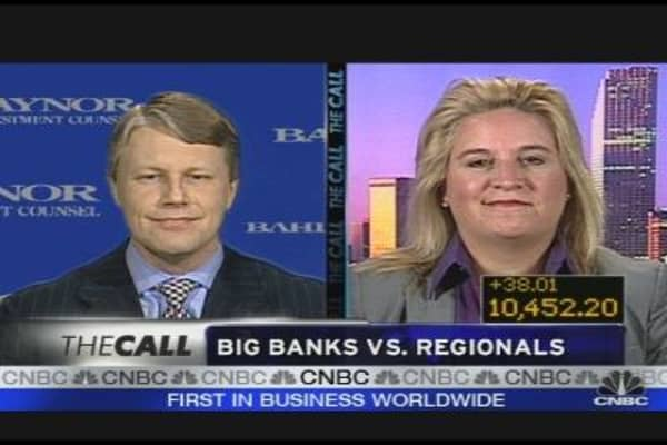 Making Money: Big Banks vs. Regionals