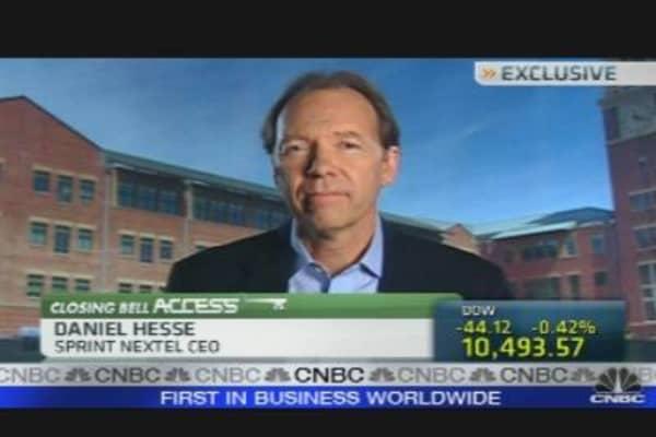 Sprint CEO on Earnings