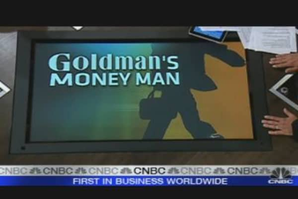 Goldman's Money Man