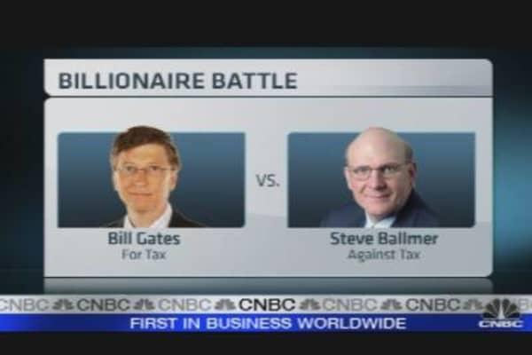 Gates vs. Ballmer