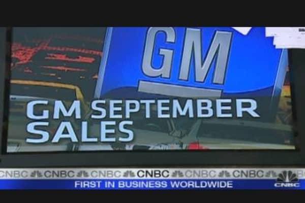 GM Sept. Sales Rise