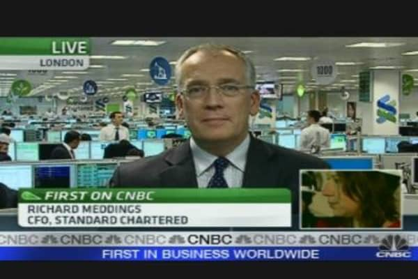 Standard Chartered CFO on Rights Issue