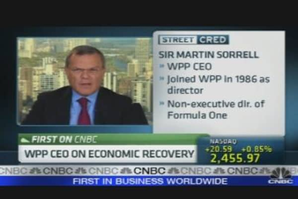 WPP CEO on Economic Recovery