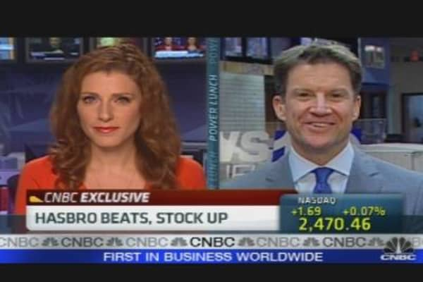 Hasbro CEO on Earnings, Outlook