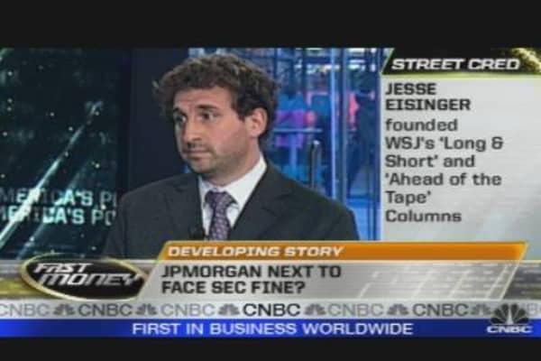JP Morgan Next to Face SEC Fine?