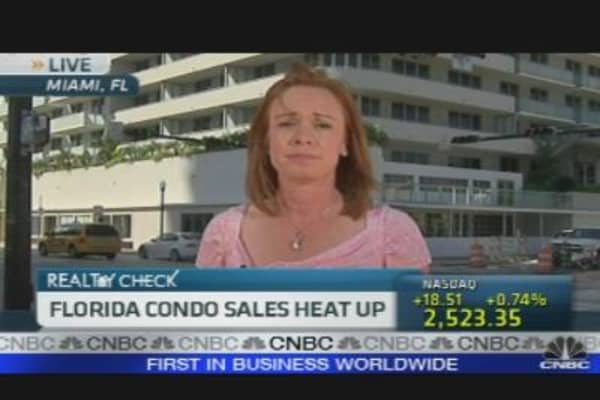 Florida Condo Sales Heat Up