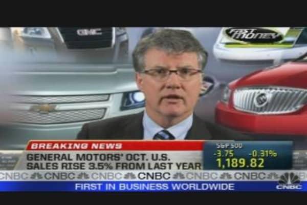 GM Sales Rise