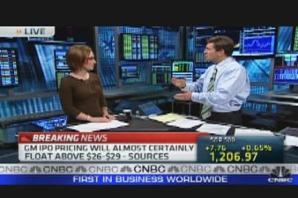 GM IPO Countdown