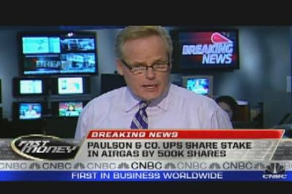 Paulson & Co. Gold Position Unchanged