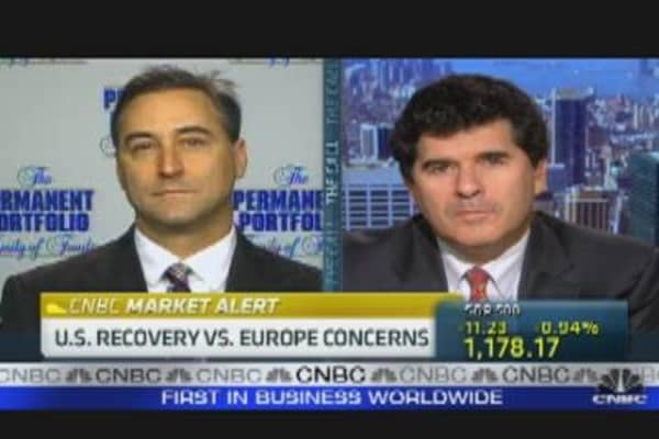 US Recovery vs. Euro Concerns