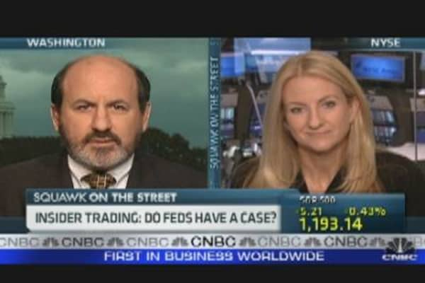 Behind the Insider Trading Probe