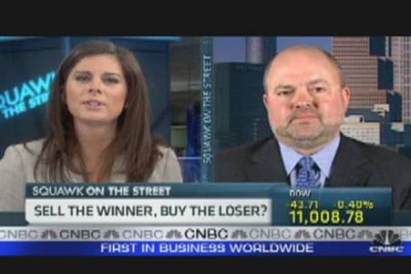 Sell the Winner, Buy the Loser?