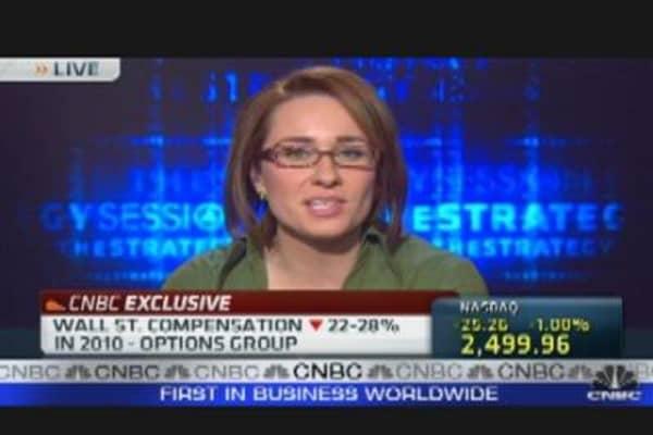 Wall Street Bonuses Slashed