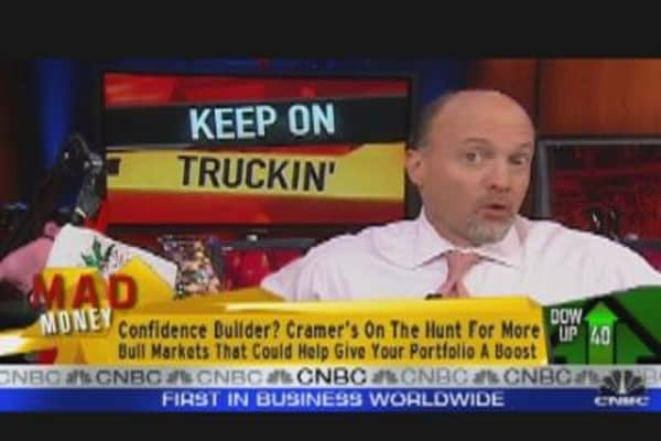 Cramer Talks Truck Stocks