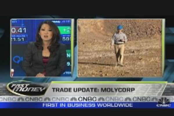 Trade Update: Molycorp