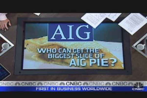 Large Banks Jockeying for Piece of AIG Offering