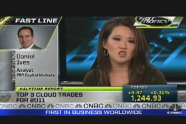 Top Three Cloud Trades